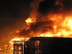 Ночной пожар оставил жительницу Моркинского района (Марий Эл) без крова