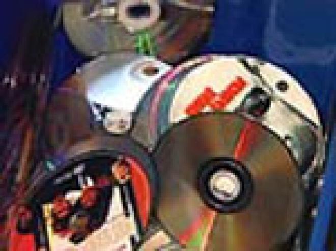В Йошкар-Оле изъята крупная партия нелицензионных дисков