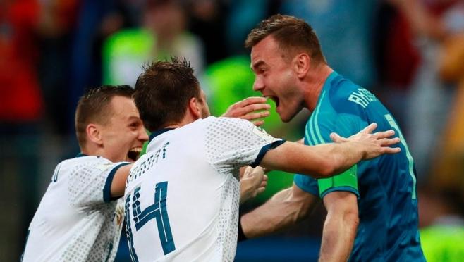 Сборная России впервые в истории вышла в четвертьфинал чемпионата мира