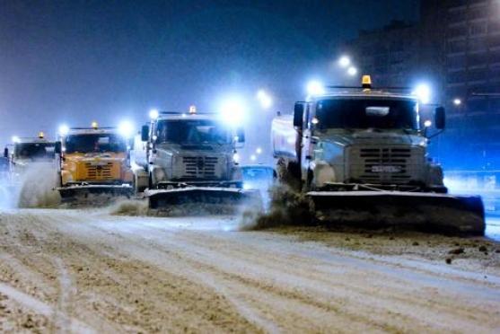 Коммунальщиков Йошкар-Олы вновь подняли на уборку дорог от снега и льда