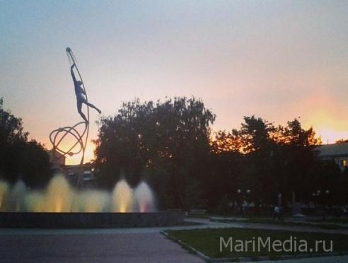 1 мая в Йошкар-Оле открывается сезон фонтанов