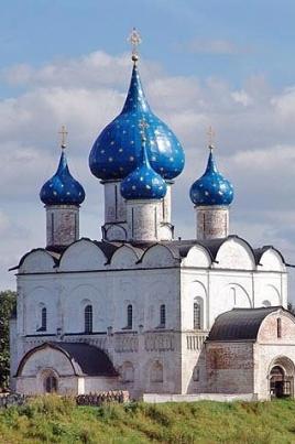 Города Золотого кольца России: Суздаль, Углич постер