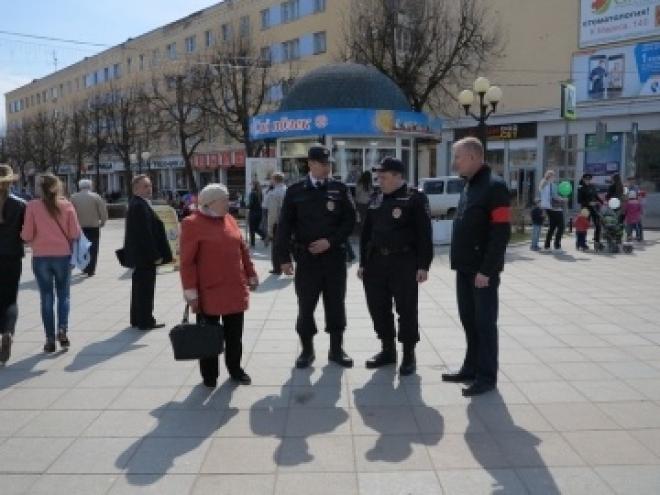 Полицейские обеспечили правопорядок и безопасность в День Весны и Труда