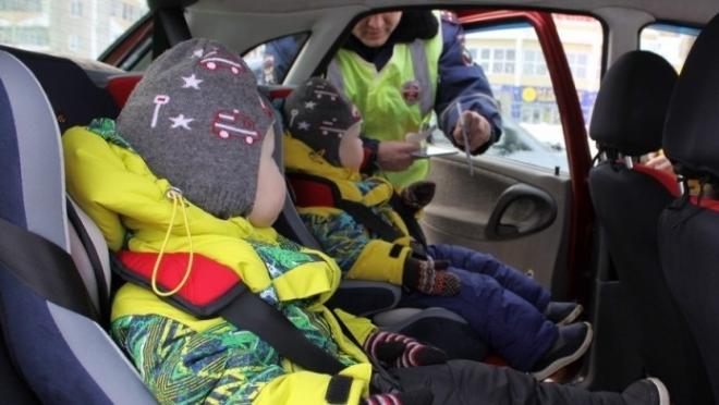 В Йошкар-Оле проходят тотальные проверки машин с детьми