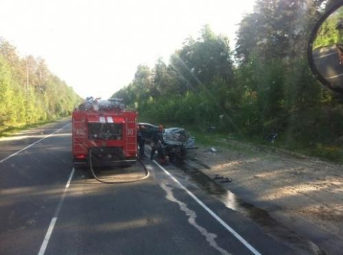 На Кокшайском тракте произошло крупное дорожно-транспортное происшествие