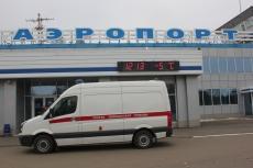 Аэропорт Йошкар-Олы стал местом проведения учений спасателей
