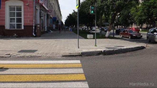 В Марий Эл число ДТП с участием пешеходов выросло на 18%