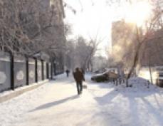 В столице Марий Эл среднемесячная температура воздуха в декабре будет примерно на 4 градуса ниже нормы