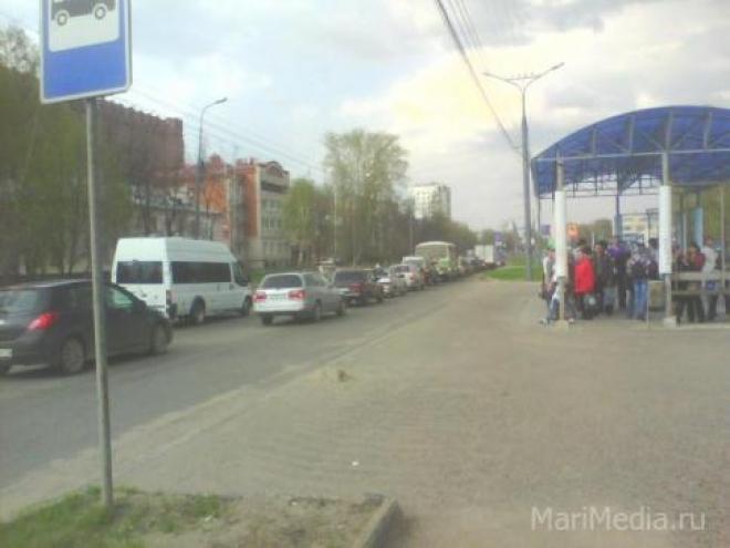 Первомайская демонстрация затруднит движение транспорта в Йошкар-Оле