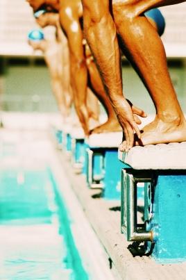 I Этап Кубка России по плаванию постер