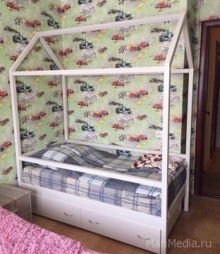 Представляем вам новую кровать-домик. Укладывать деток спать станет намного легче и приятнее!