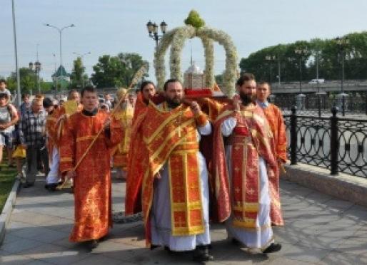 Православная молодежь совершит традиционный крестный ход