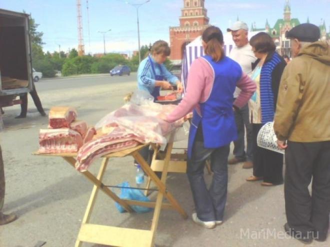 Администрация Йошкар-Олы борется с уличной торговлей
