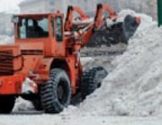 В столице Марий Эл снежную свалку завалили снегом