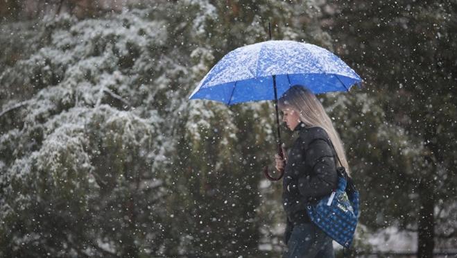 В выходные в республике пойдёт снег