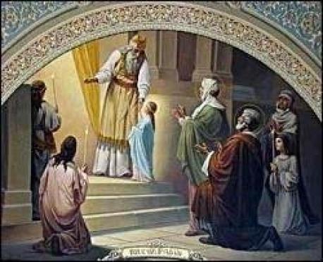 В храмах Марий Эл празднуют Введение во храм Пресвятой Богородицы