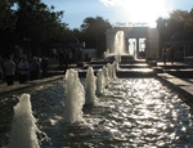 В столице Марий Эл началось массовое отключение фонтанов