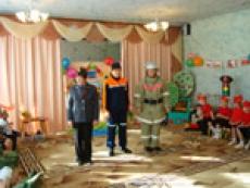 Комитет гражданской защиты по республике Марий Эл экзаменовал йошкар-олинских дошкольников