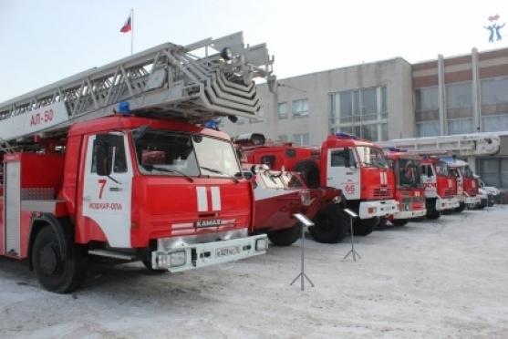 МЧС представило в Йошкар-Оле выставку специальной техники
