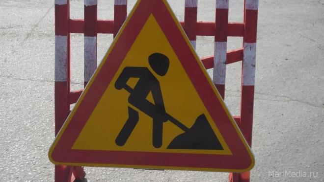 В Йошкар-Оле движение по улице Больничной закрыто на два дня