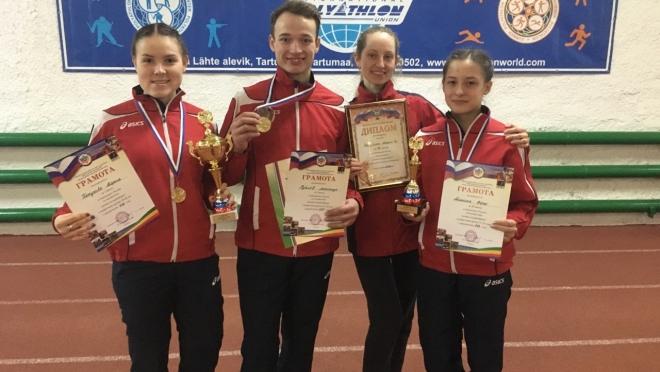 Команда Марий Эл взяла «бронзу» на Чемпионате России по полиатлону