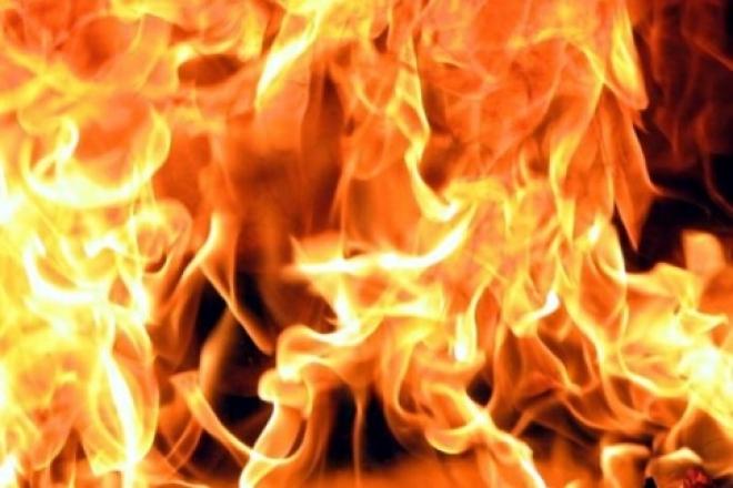Пожар вблизи АЗС вызвал переполох в Волжской деревне