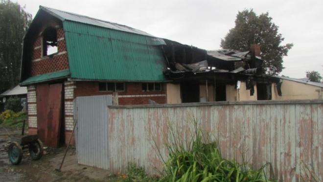 В Йошкар-Оле произошёл серьёзный пожар