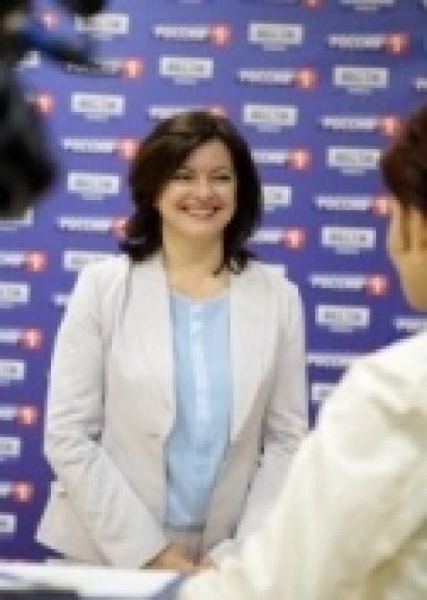 Поздравление директора ГТРК «Оренбург» Ларисы Мурашовой