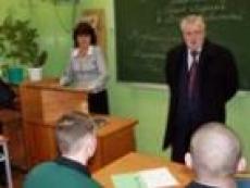 Сергей Миронов оставил запись в «Книге почетных гостей» Новотроицкой воспитательной колонии Марий Эл