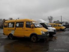 Маршрутное такси № 34к меняет схему движения