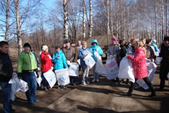 За время экологической акции собрано более 12 тысяч кубометров мусора
