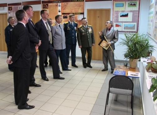 В Марий Эл открылась историко-патриотическая галерея противопожарной службы