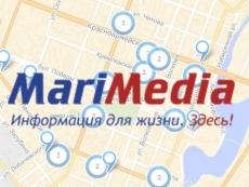 В каталоге предприятий «МариМедиа» теперь доступно добавление карты