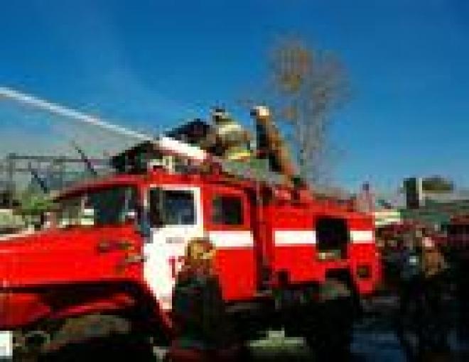 В Йошкар-Оле загорелось летнее кафе