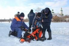 Спасатели обследовали купель для крещенских купаний в Йошкар-Оле