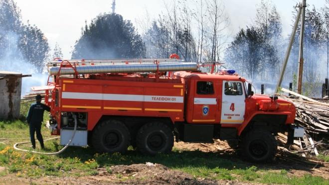 В Марий Эл отмечен рост числа бытовых пожаров