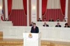 Президент Республики Марий Эл принял участие в работе шестой сессии законодательного органа республики