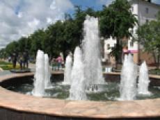 В столице Марий Эл разграблен фонтан