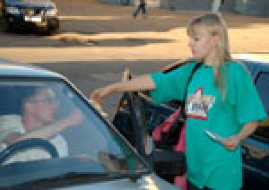 В Йошкар-Оле автомобилисты стали свидетелями и участниками необычной акции