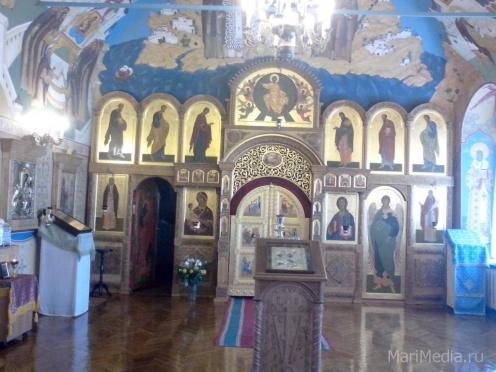 В домовом храме Епархиального управления будут звучать молитвы на марийском языке