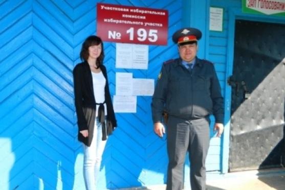 Сотрудники полиции не допустили нарушений общественного порядка на выборах