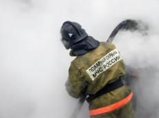 В Йошкар-Оле на улице Машиностроителей загорелась квартира
