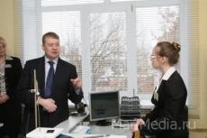 Леонид Маркелов посетил Многопрофильный лицей-интернат