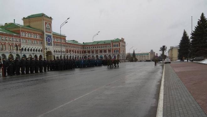 Финальная репетиция парада Победы в Йошкар-Оле намечена на 7 мая