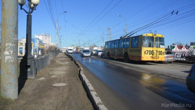 В Йошкар-Оле в субботу будет ограничено движение по автомобильным мостам
