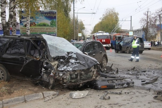 Виновник утренней аварии на улице Машиностроителей был пьян