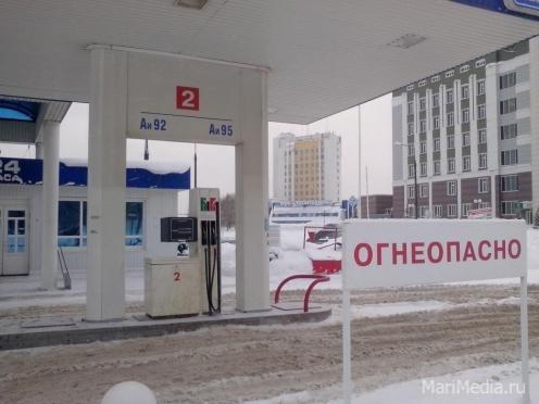 Акцизы на топливо решили поднять с 1 апреля