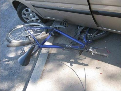 В поселке Медведево четырёхлетний велосипедист попал под колёса «Лады-Калина»