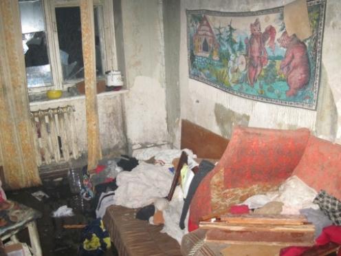 Пожарные в Медведевском районе спасли женщину