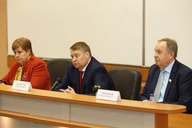 Леонид Маркелов встретился со студентами ПГТУ в неформальной обстановке